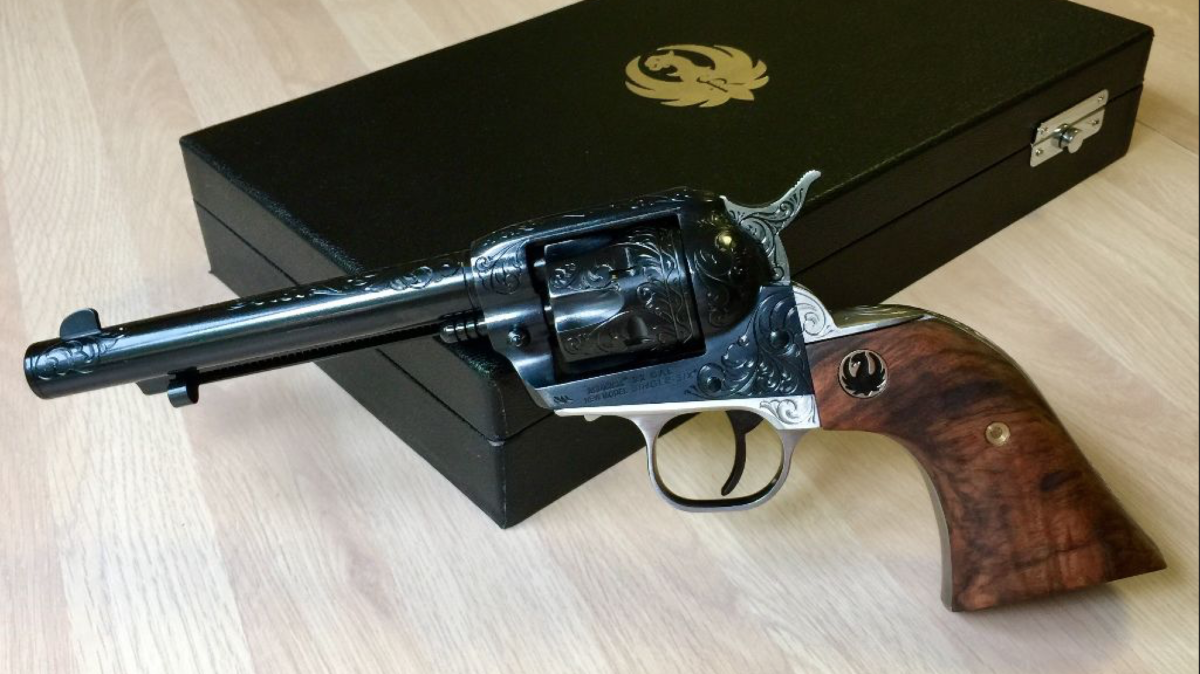 Custom Single-Six: Tyler Gun Works' RSSE