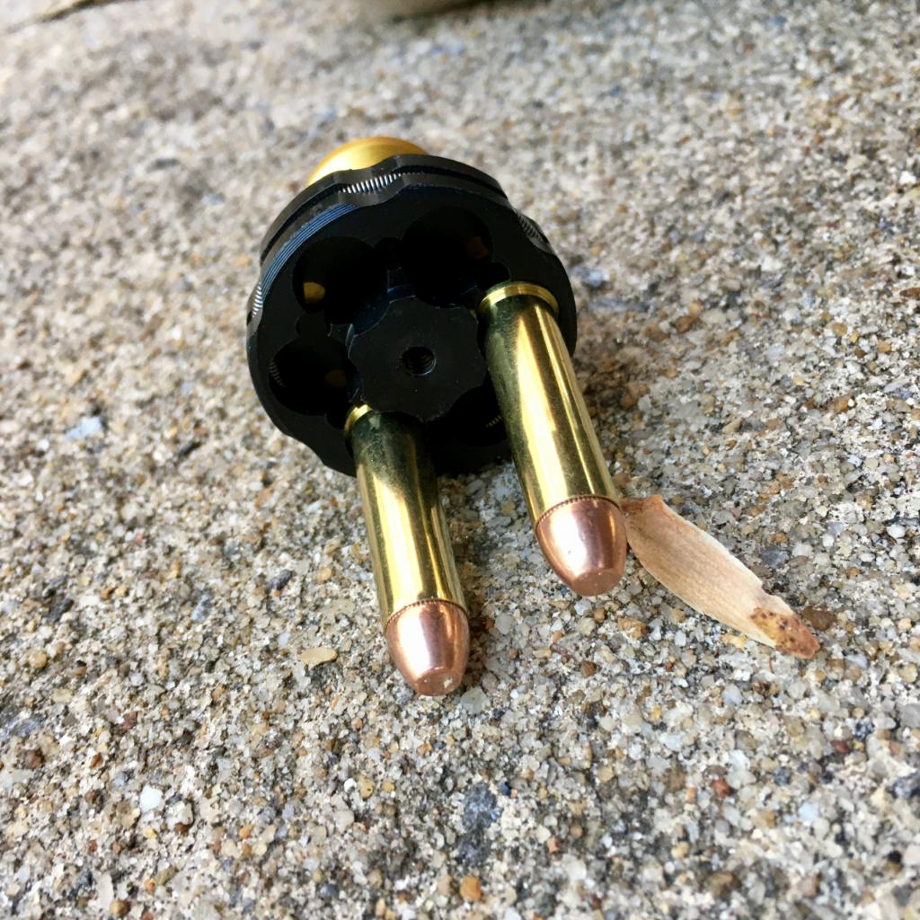 Speed Beez Best Revolver Speedlaoder Drop Test 3