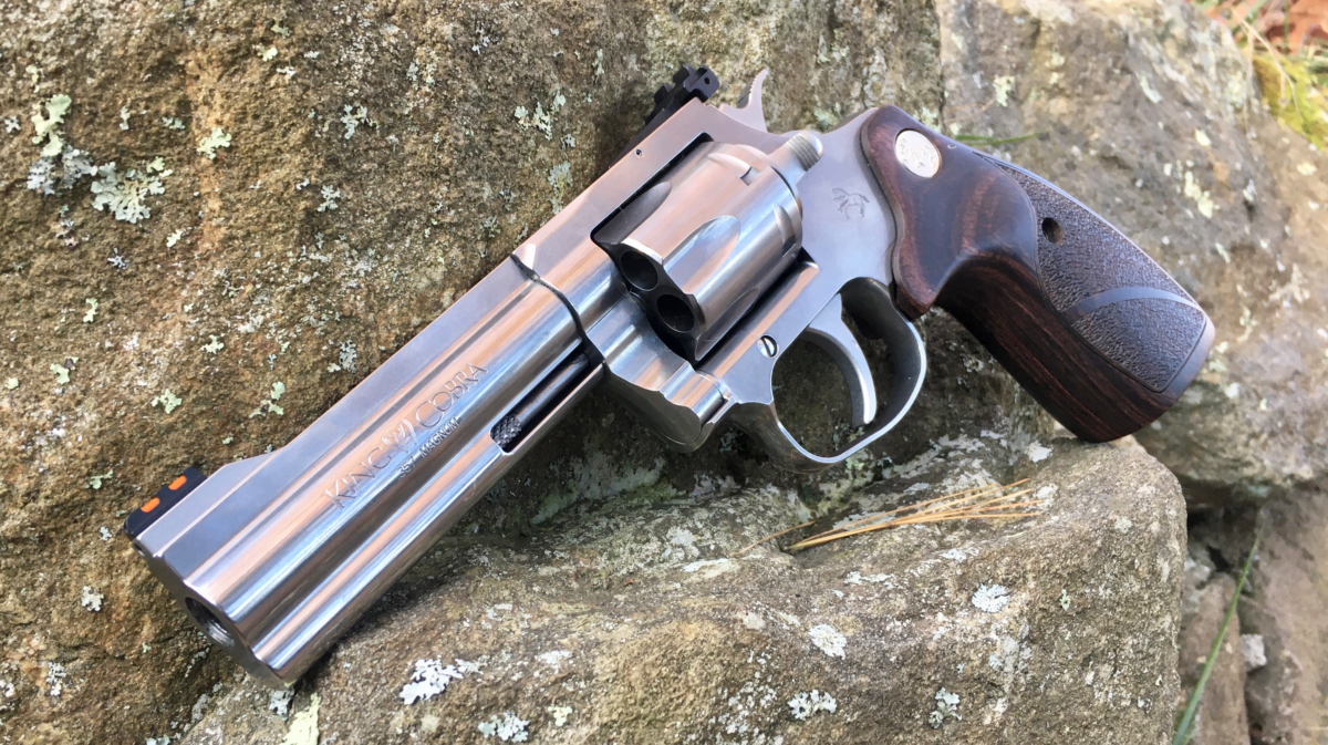Field Report: 4″ Colt King Cobra Target