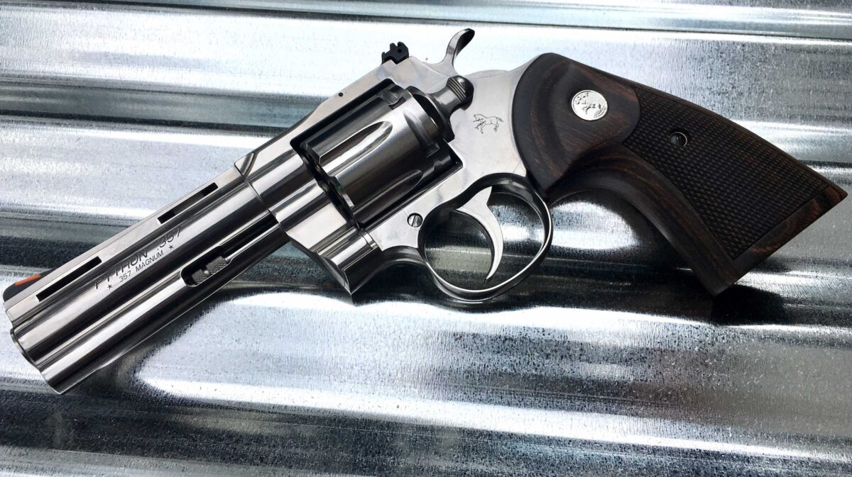 Field Report: The 2020 Colt Python
