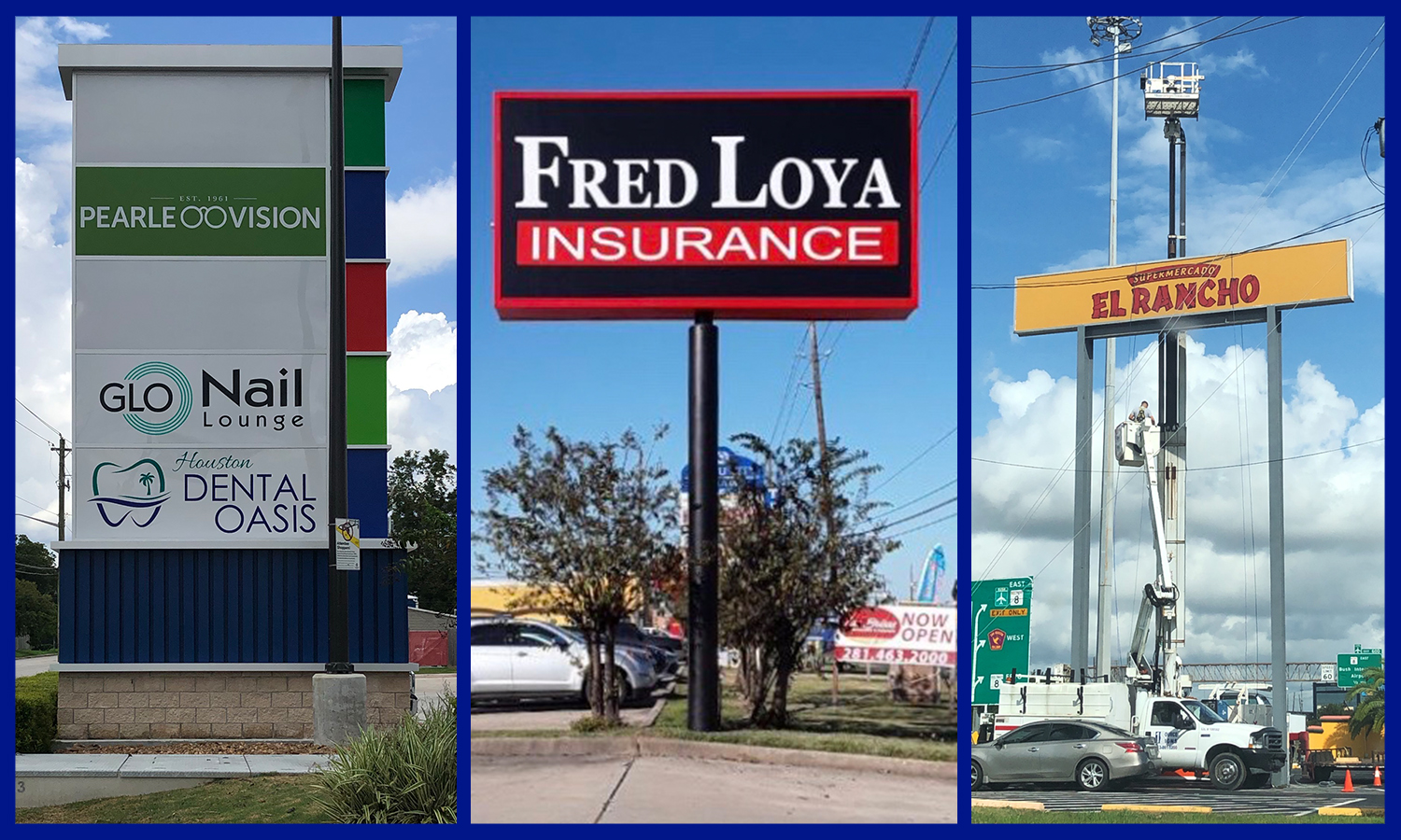 <h3>Monument and Pole Signs</h3><p>1 Source Signs specializes in Monument Signs and Pole Signs that will look great for your business or commercial buildings.</p>
