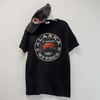 Red and Black hat/tee combo