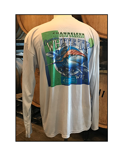 WHITE TIP WIT LONG SLEEVE