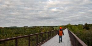 DOUBE'S TRESTLE BRIDGE Trans Canada Trail The Great Trail