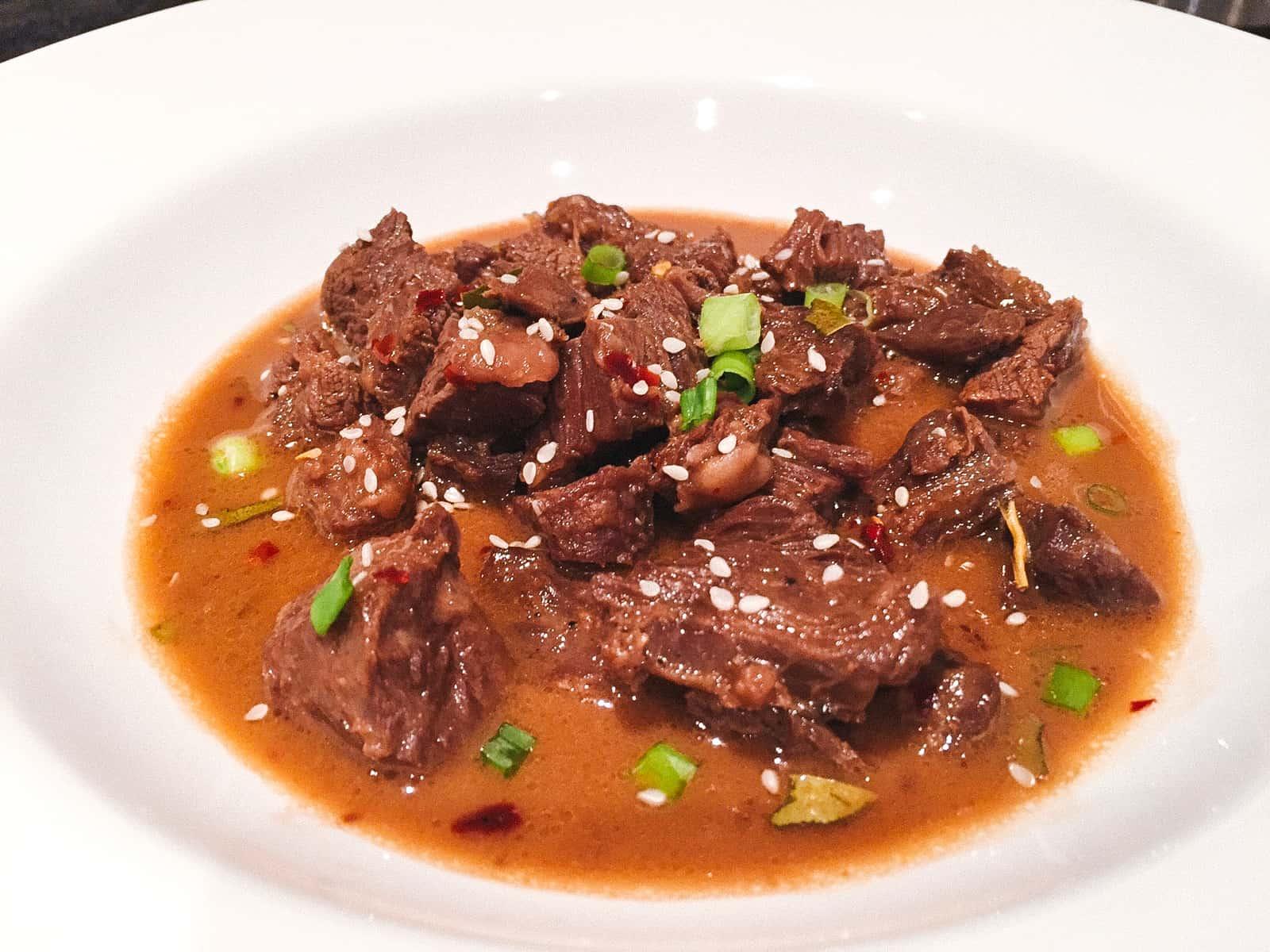 Filipino Coconut Beef