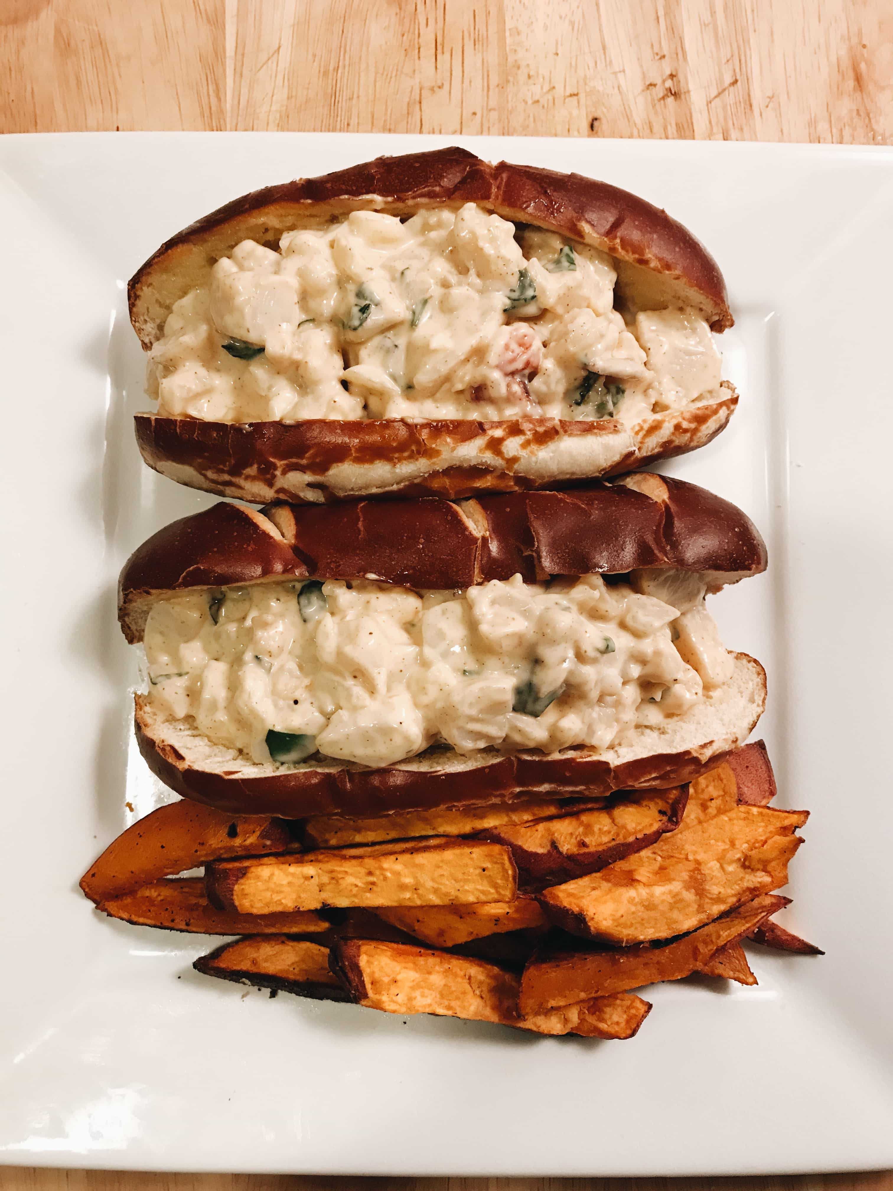 Lobster and Scallop Rolls