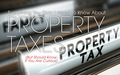 Everything You Didn't Need To Know About Property Taxes