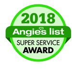 Angies List 2018 Super Service Award Winner