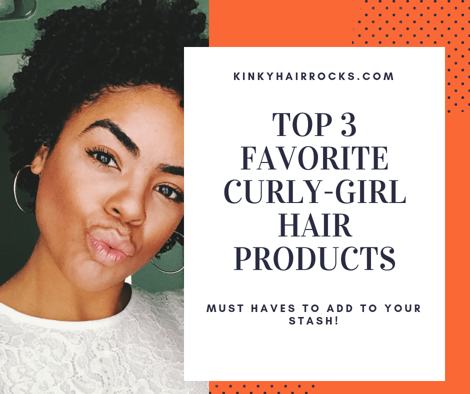 CURLY-GIRL HAIR PRODUCTs