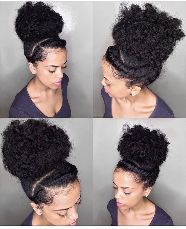 Love this top knot bun by our girl @XoLoveLifeOX