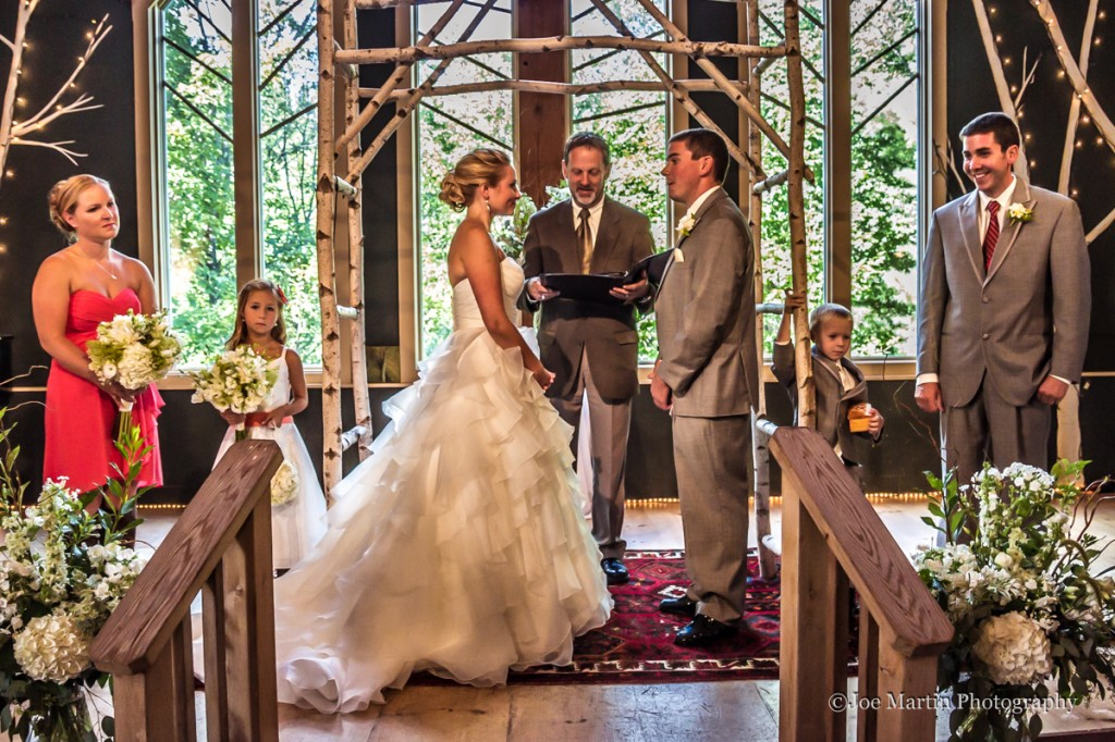 Wedding photography at a New Hampshire