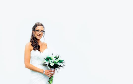 portrait of a beautiful bride at the Pats Peak wedding venue