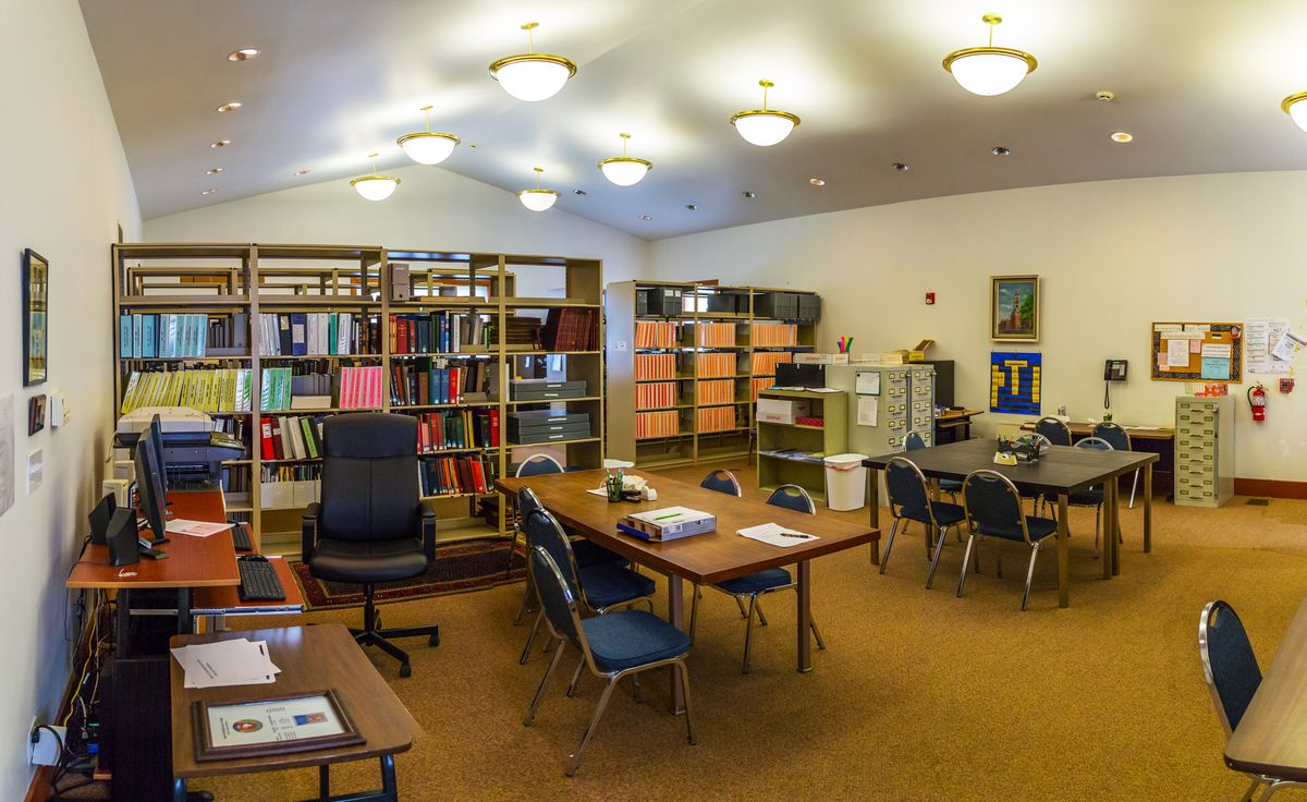 Genealogy Library at the Clinton County History Center