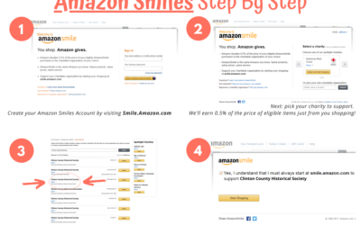Support the History Center: Amazon Smiles