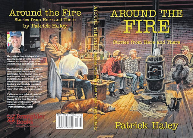 "NEW Local Author Book: ""Around the Fire"""