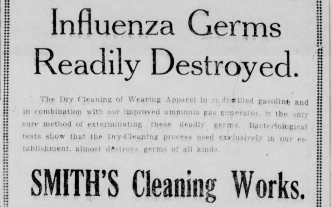 How we dealt with pandemic of 1918 — Part 1