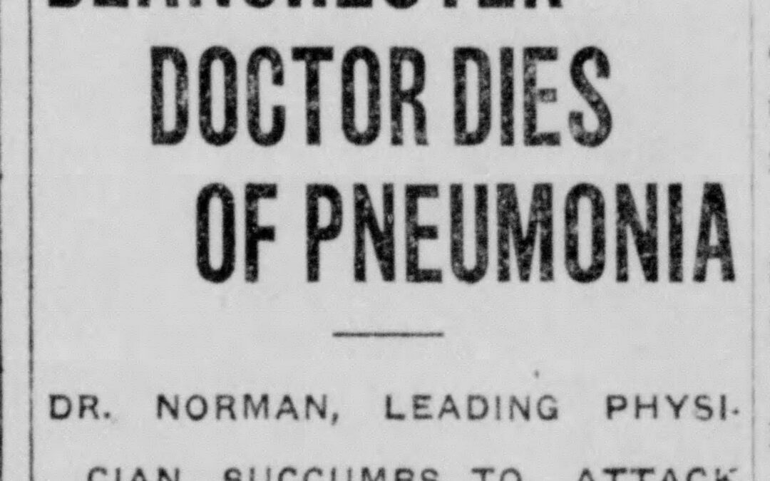 In 1918, Flu 'the worst thing I ever knew' – Part 2