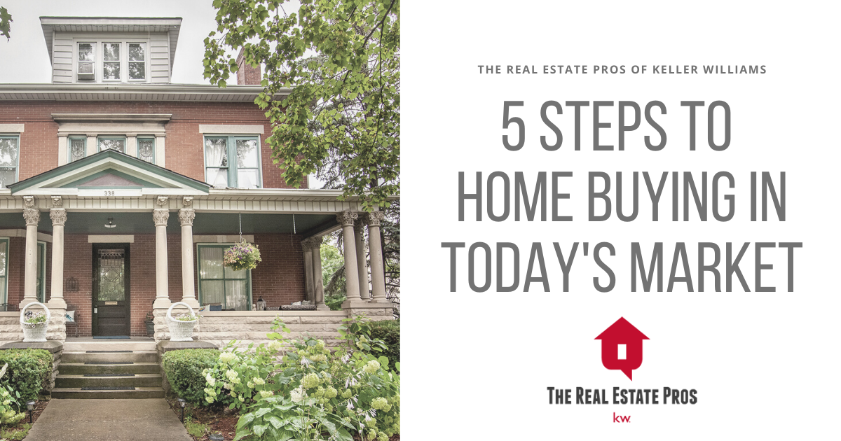 5 Steps to Buying a Home in Today's Market