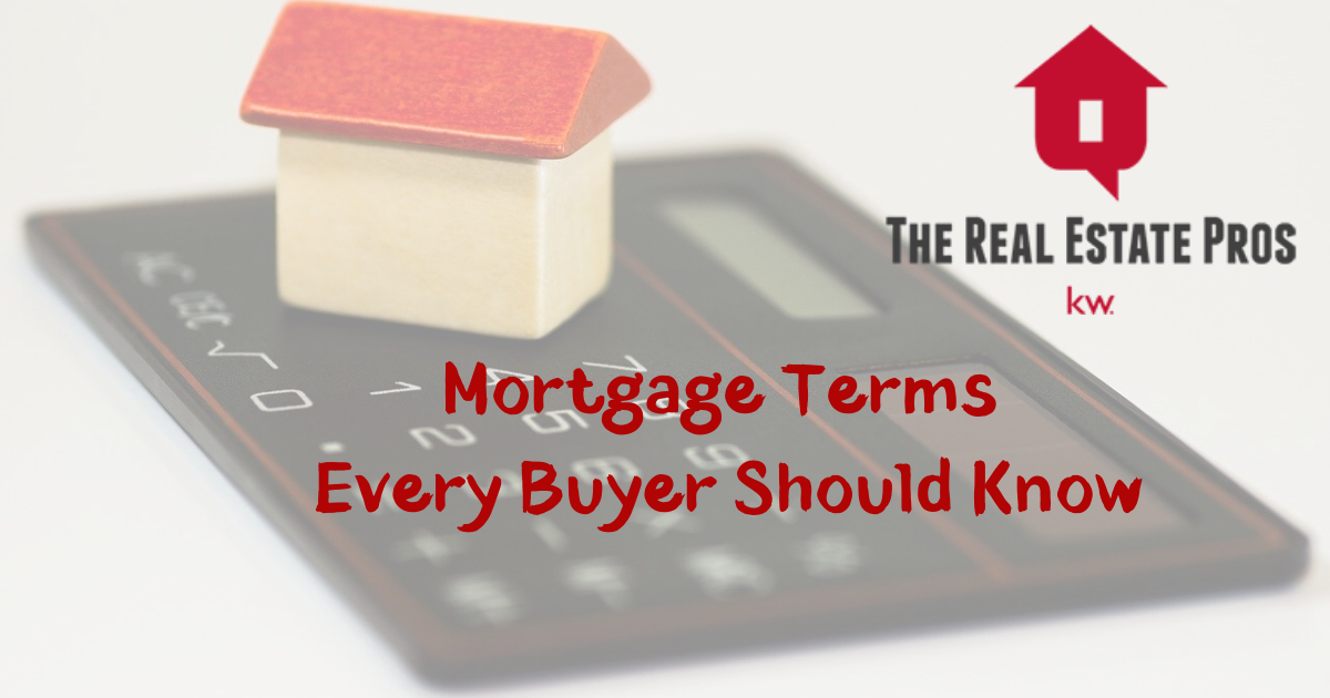 Home Mortgage Terms You Should Know