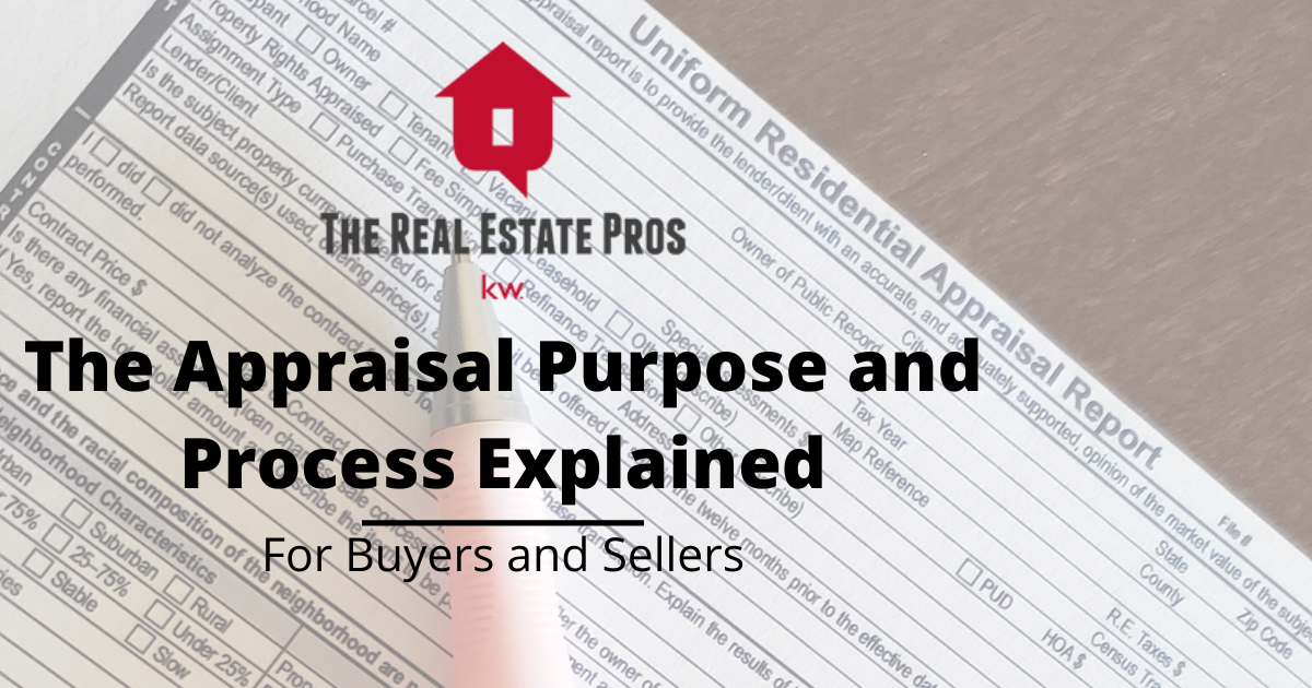 Home Appraisal Purpose and Process