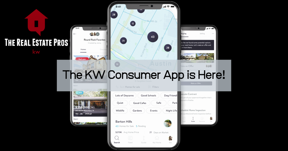The KW Consumer App is HERE!
