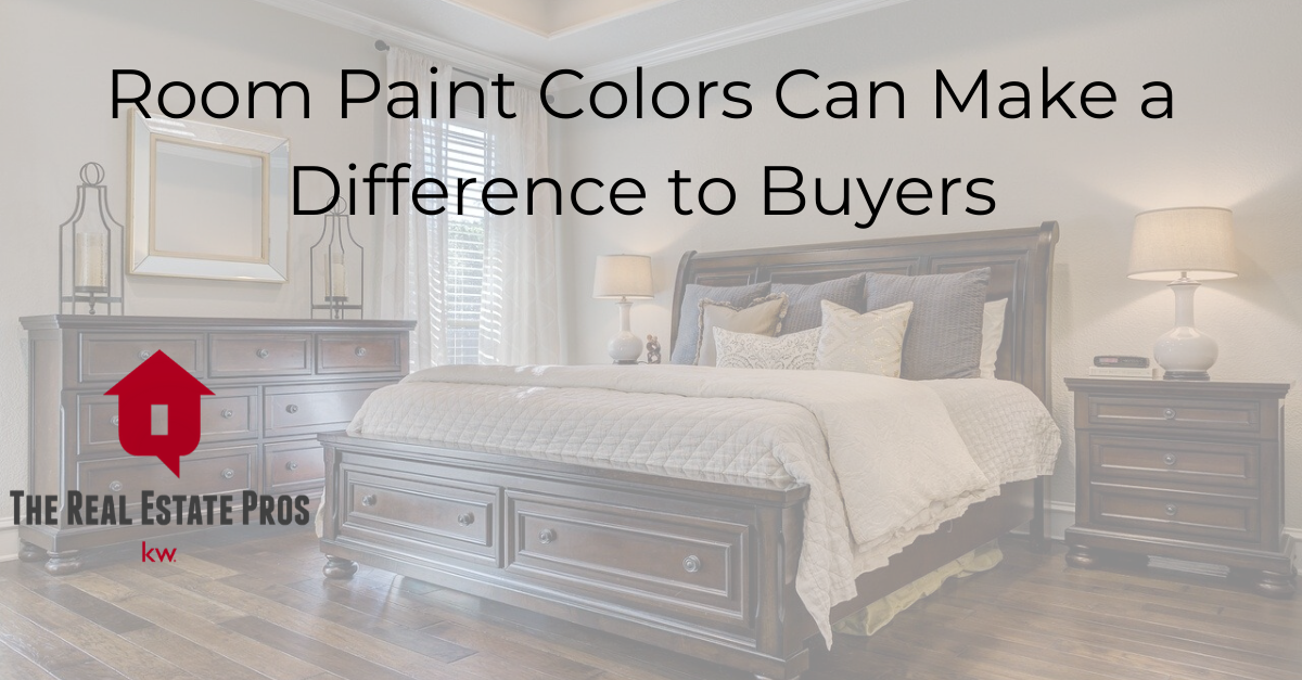 Room Paint Colors CAN Make a Difference for Buyers
