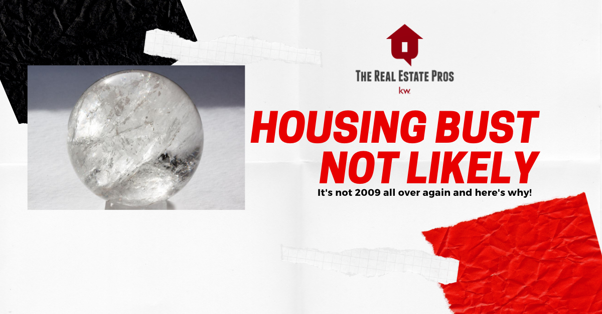 Housing Bust Not Likely in 2020