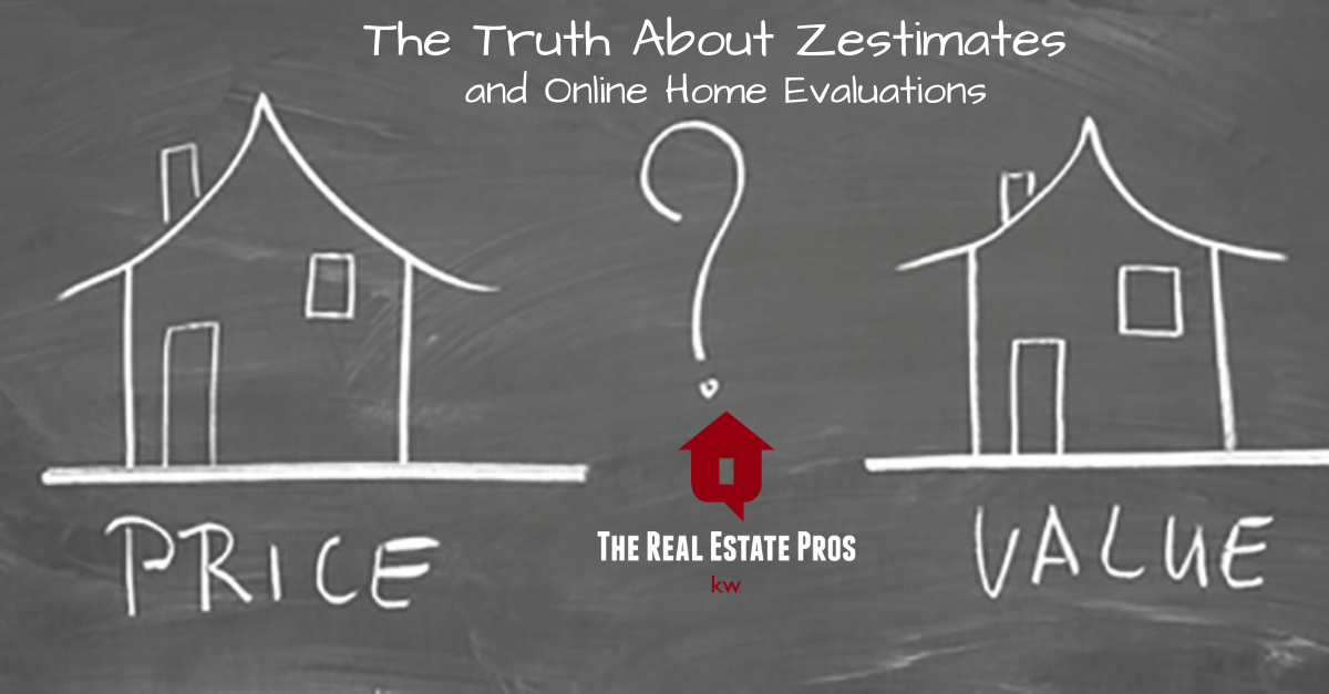 Truth About Zestimates & Online Evaluations