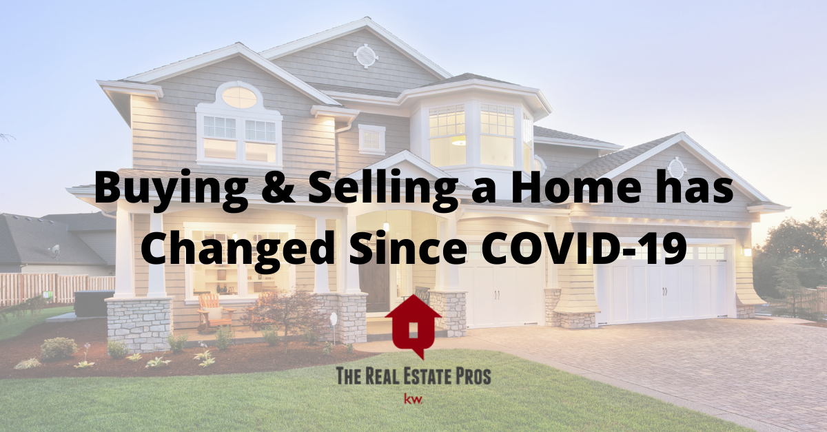 Buying & Selling a Home has Changed