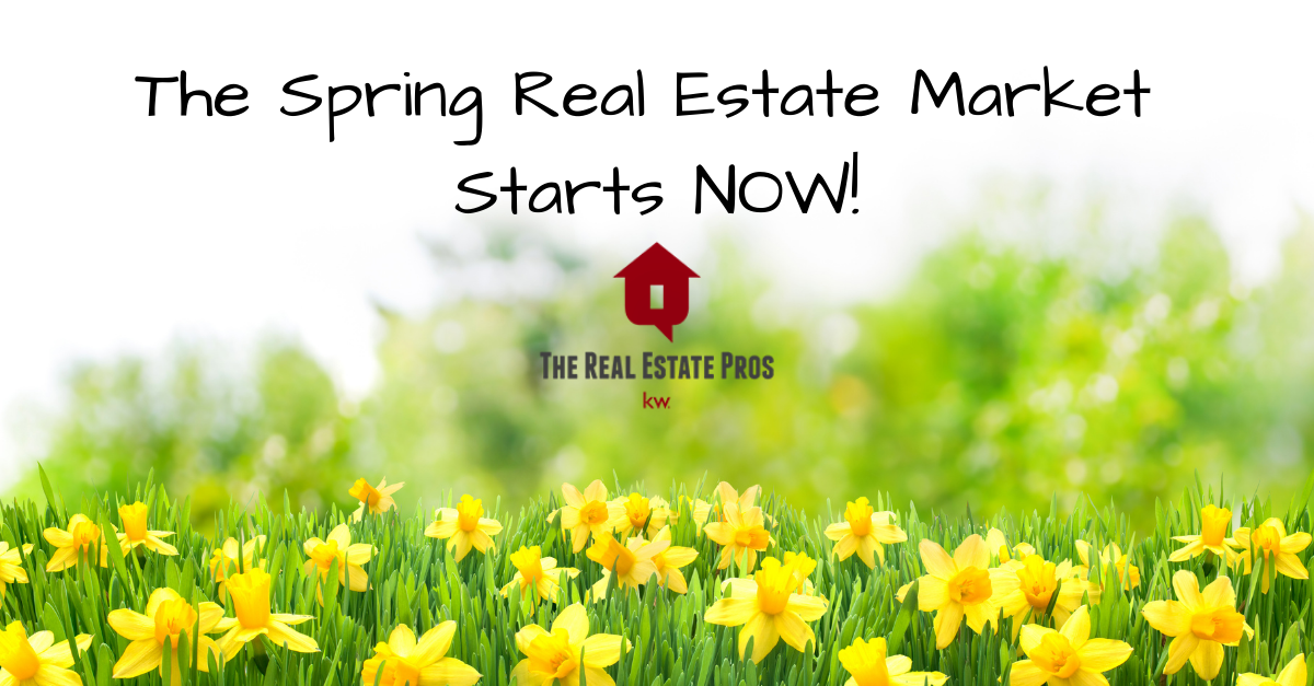 2021 Spring Real Estate Market Starts NOW!