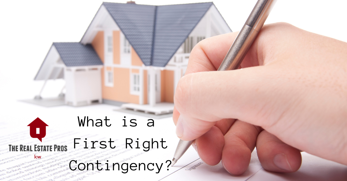 What is a First Right Contingency?