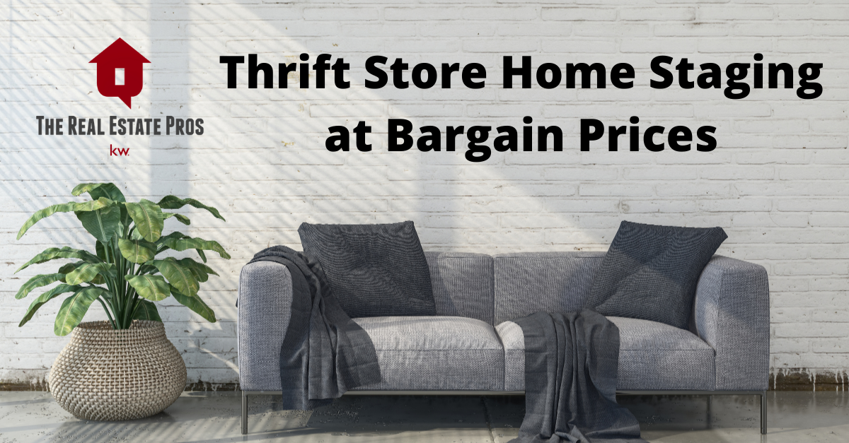 Thrift Store Staging at Bargain Prices