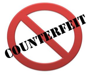 counterfeit items on amazon