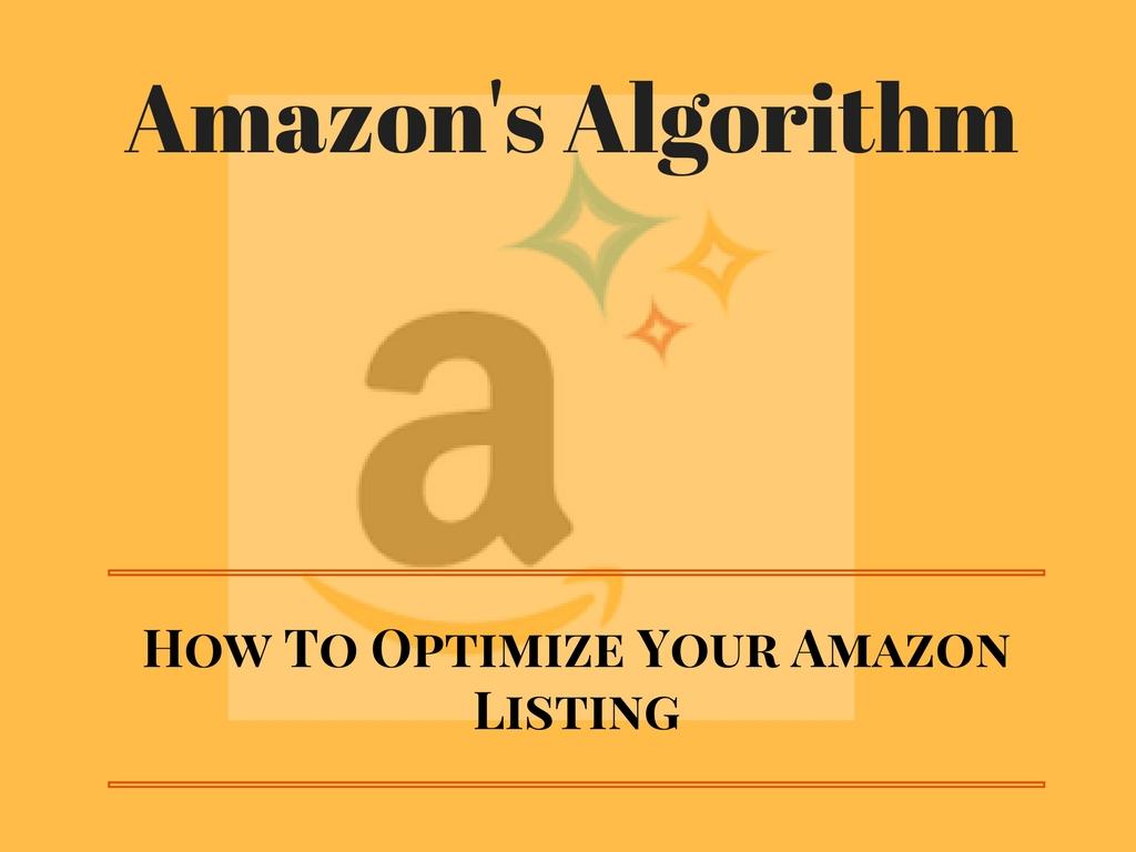 Amazon Algorithm