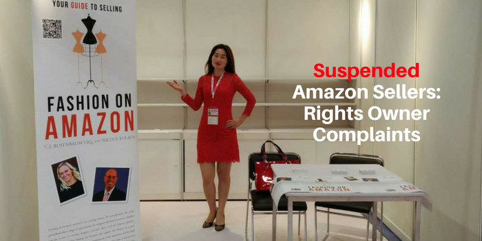 Suspended Amazon Sellers