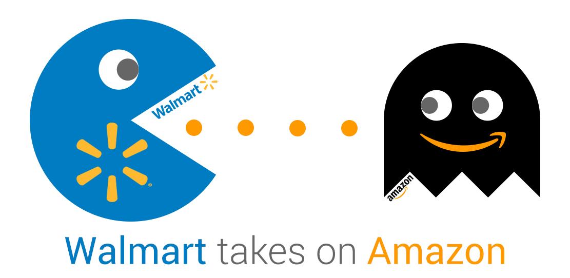 Amazon versus Walmart