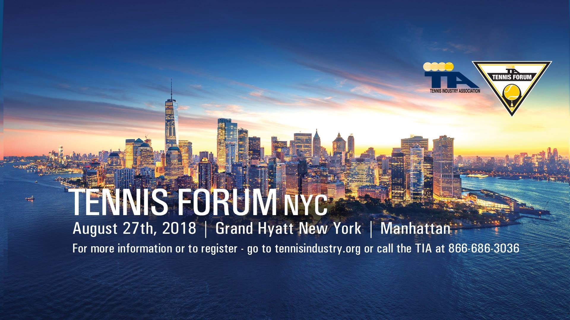 TIA Tennis Forum NYC
