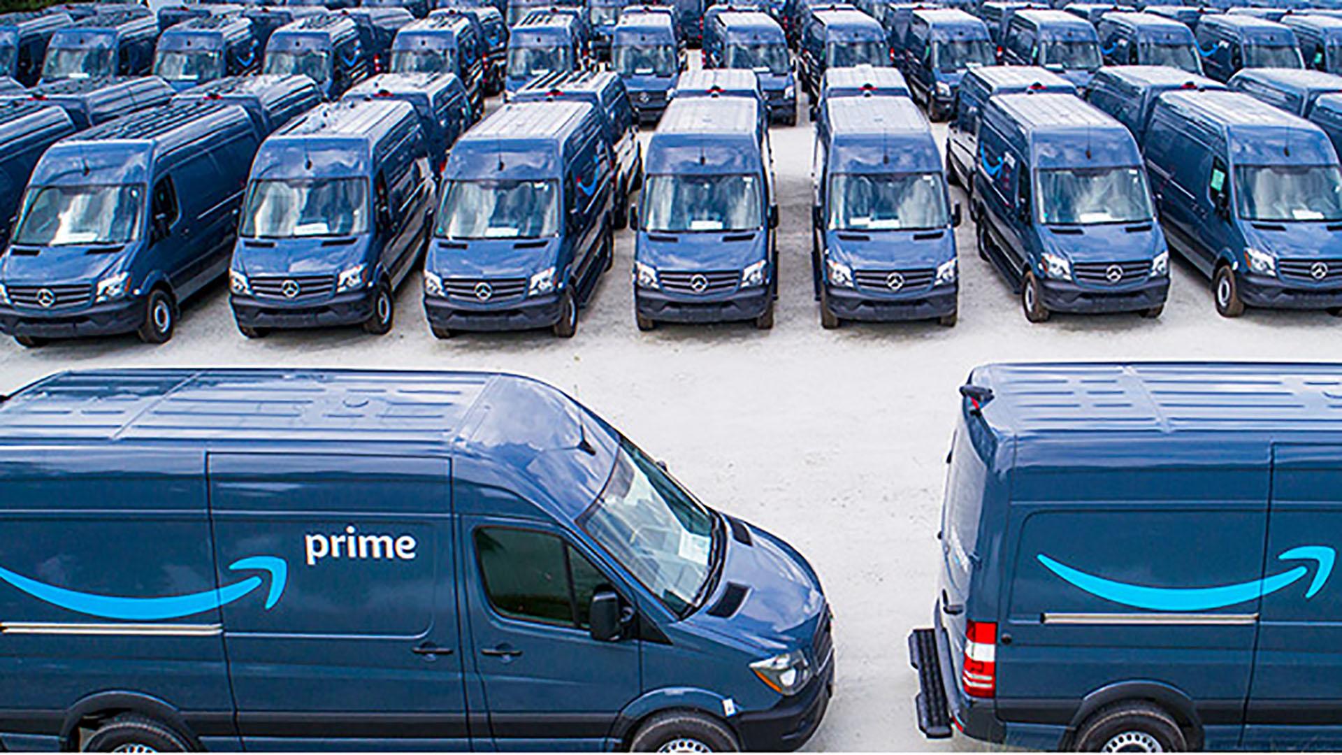 Amazon Mercedes vans