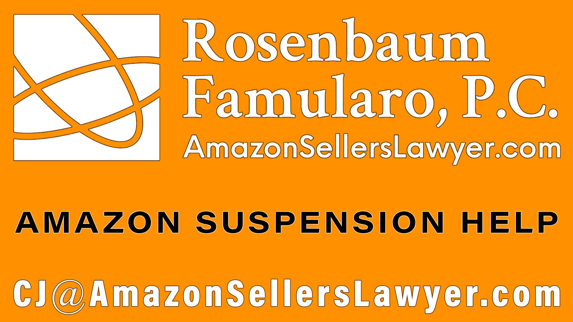 Amazon suspension help