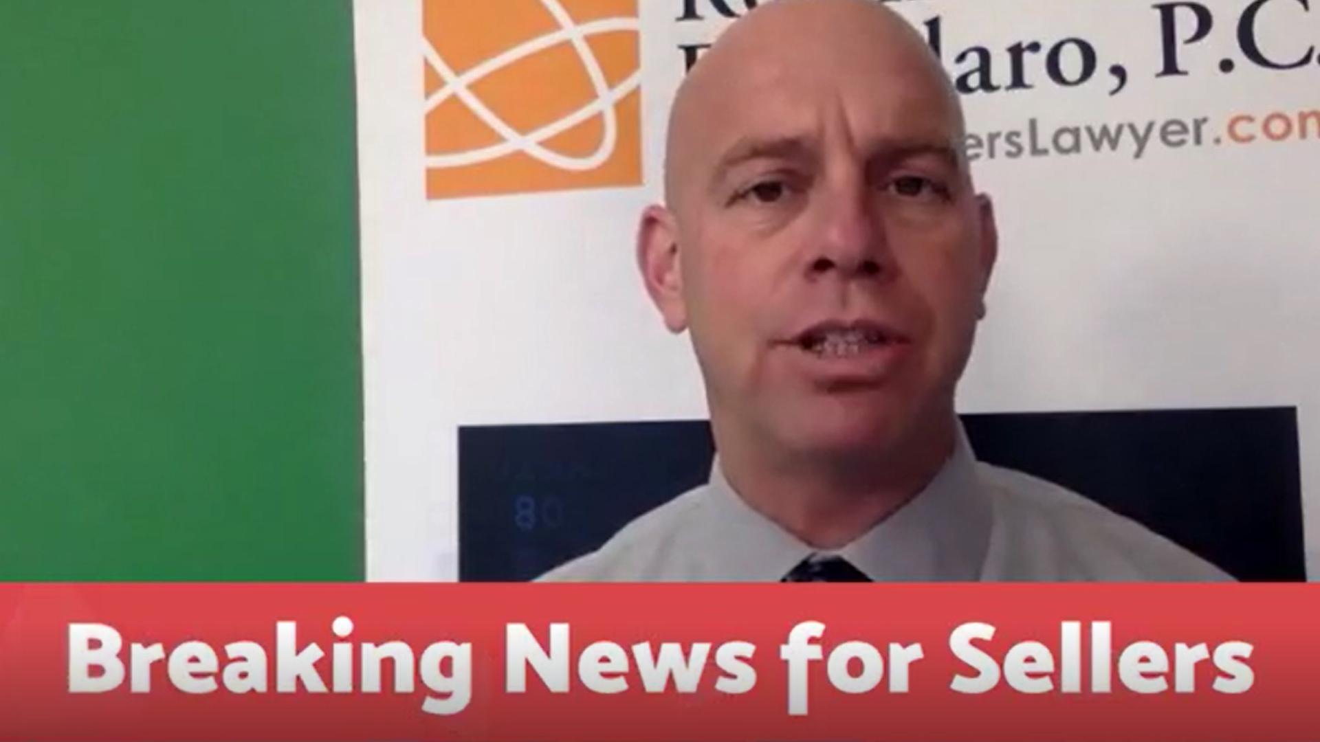 Breaking News for Sellers 11-21-18
