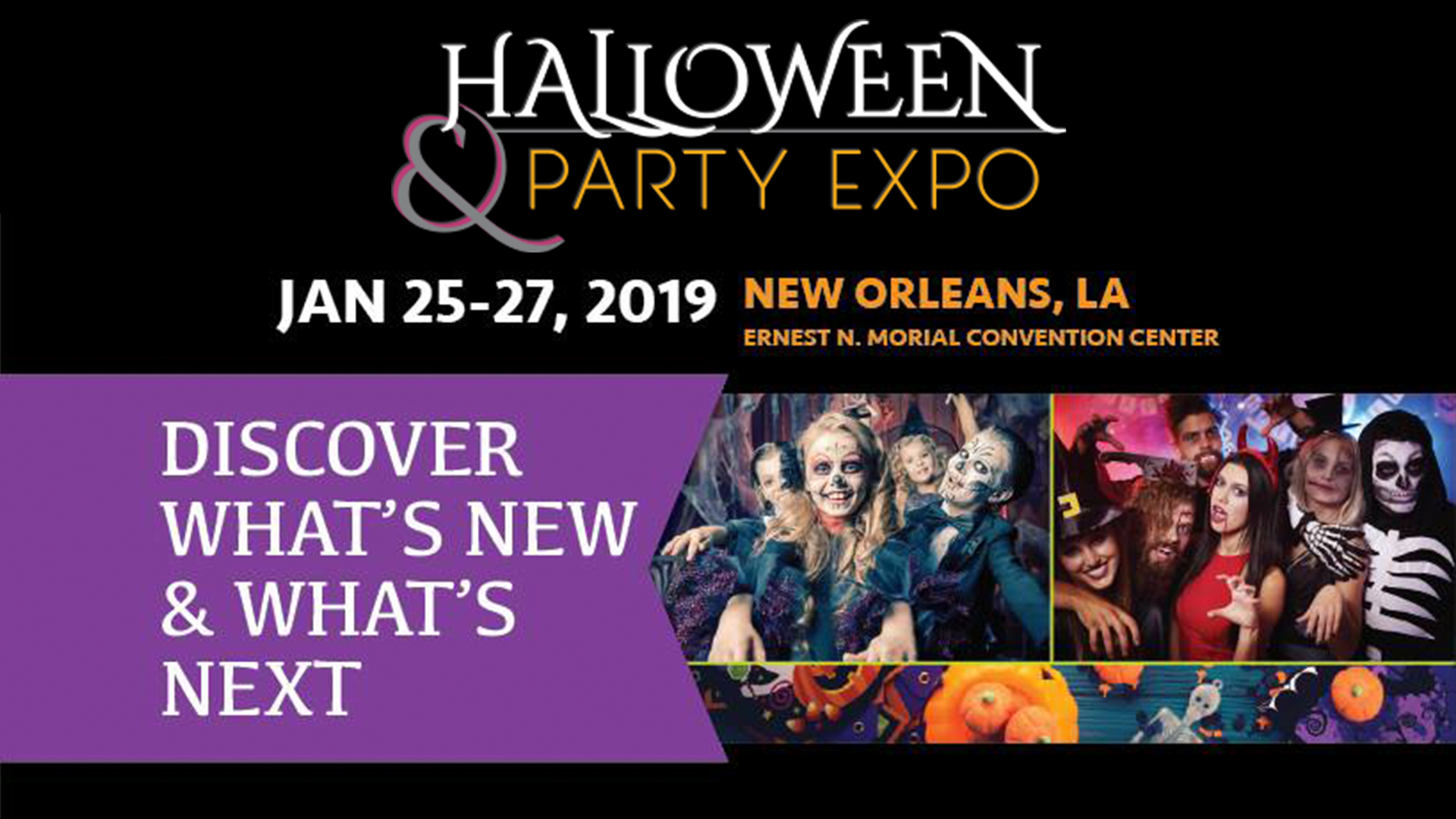 Halloween & Party Expo New Orleans