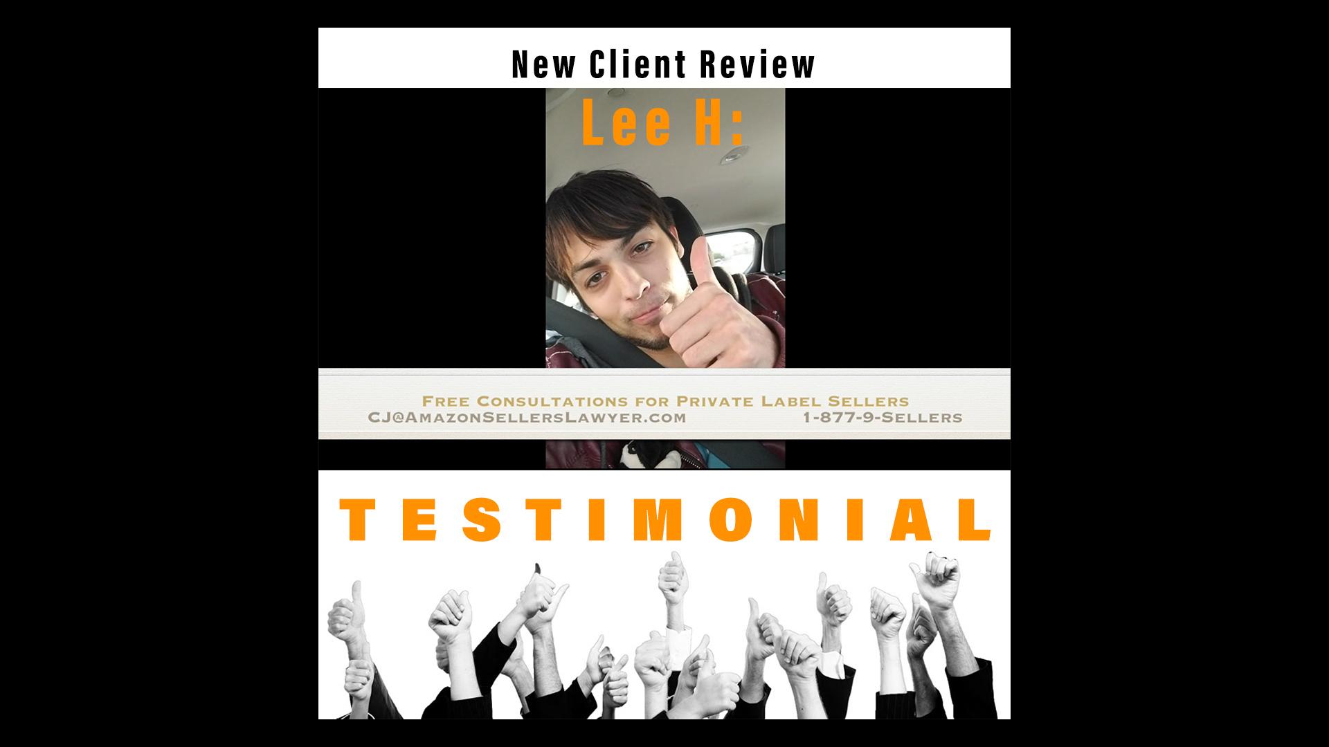 Testimonial: brand development & protection