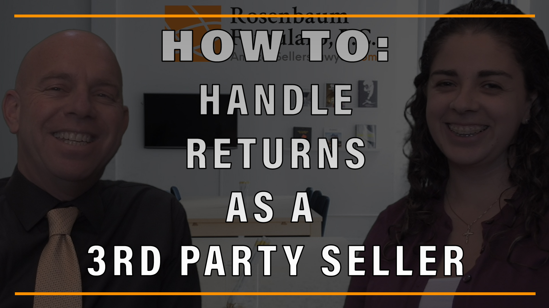 How to handle customer returns as a third party Amazon seller