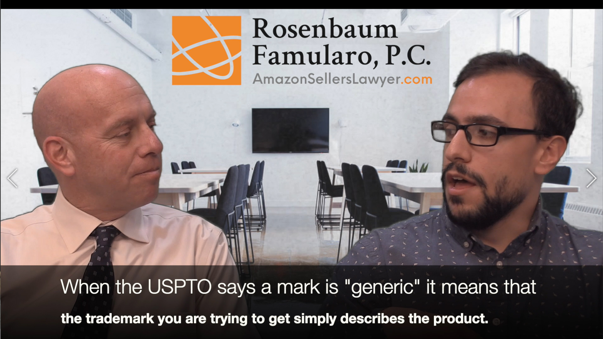 Rejected Trademark Applications - Generic Marks