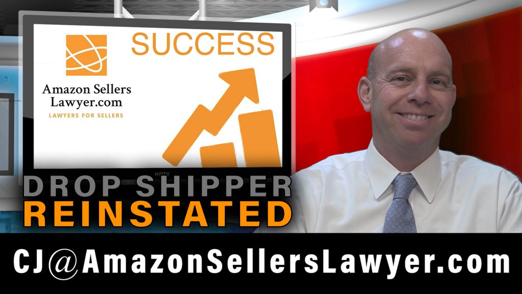 Amazon Drop Shipper Account Reinstated Without Invoices