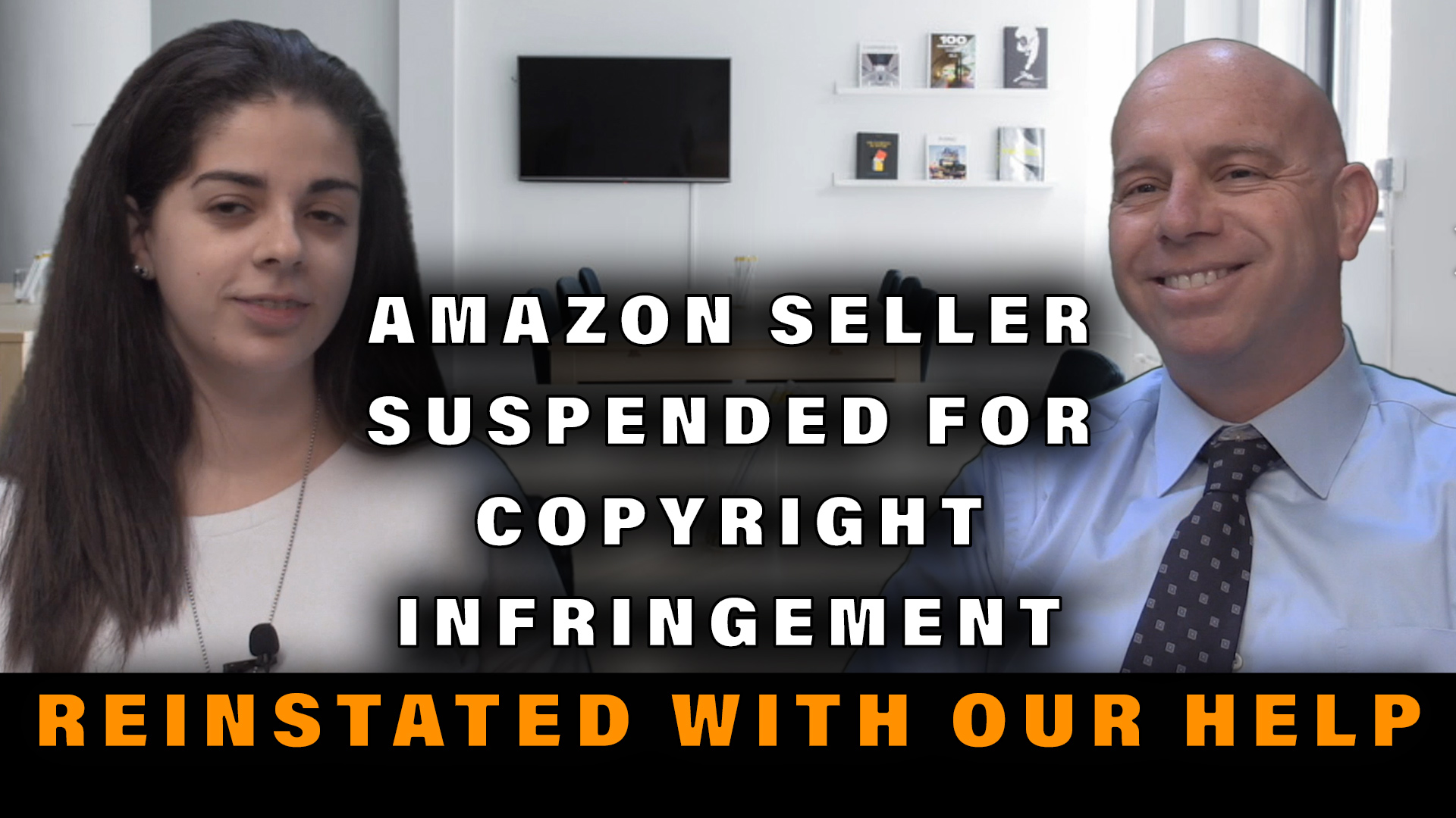 Amazon Seller Suspended for Copyright Infringement – Now Reinstated