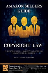 Book: Amazon Sellers Guide - Copyright Law 165x250C