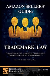 Book: Amazon Sellers Guide - Trademark Law 165x250C