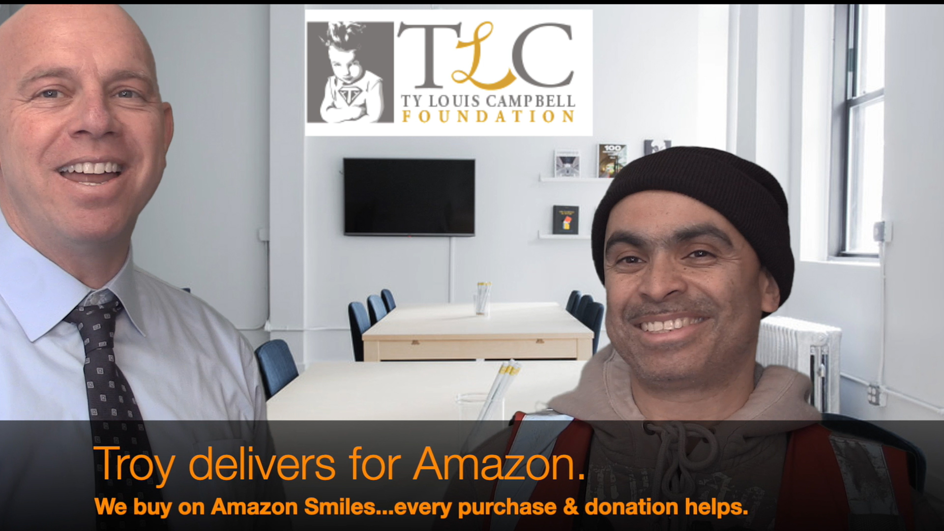 Amazon Smiles & The Ty Louis Campbell Foundation