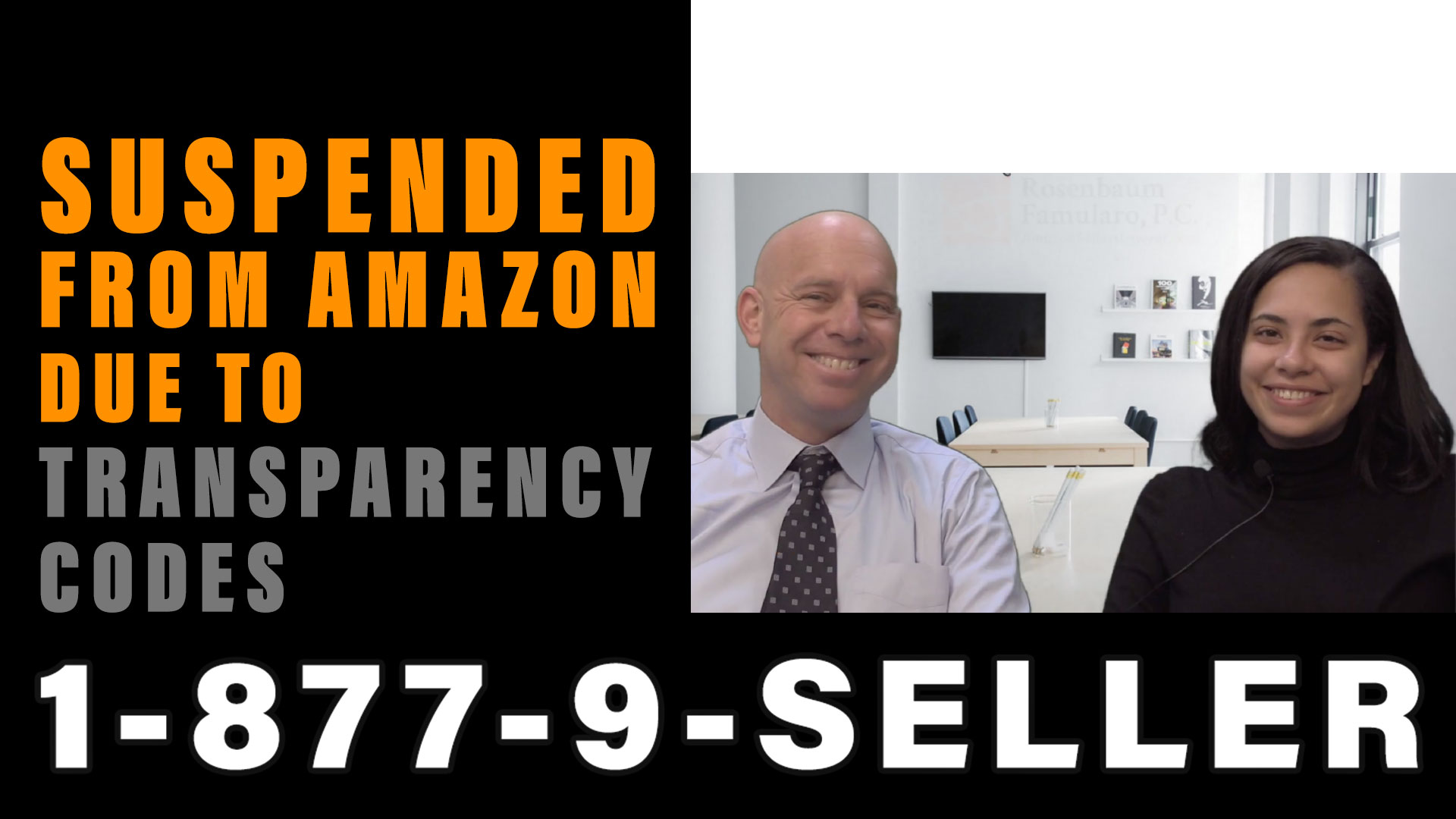 Suspended from Amazon due to Transparency Codes